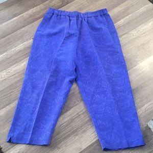Chico's 2-pc Silk Blend Pant Suit Size 2